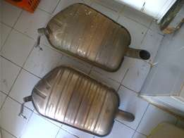 BMW 740i / 750iL s/s exhaust boxes