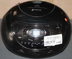 Safeway Am/fm Stereo Radio Cd Compact S023910B