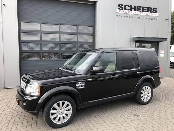 Land Rover Discovery 3.0 SDV6 256pk Aut8 HSE grijs kenteken - 2012