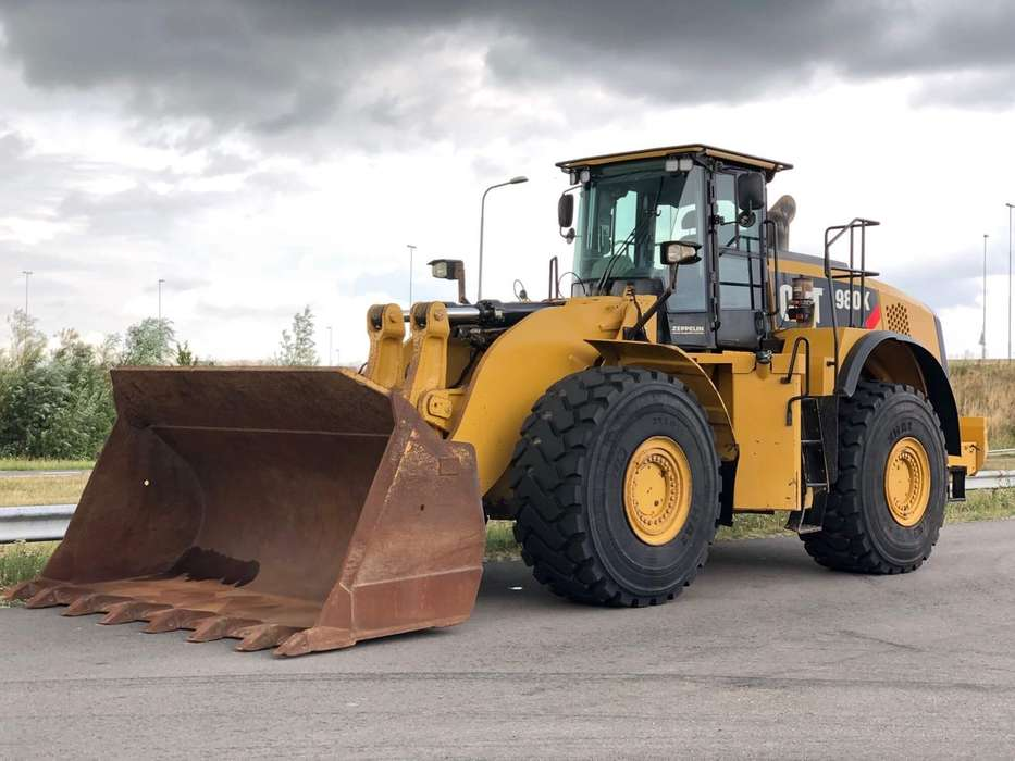 Caterpillar 980K wheel loader - 2013