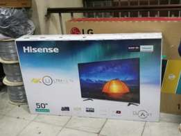 "Hisense 50"" smart digital 4k tv"