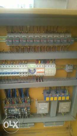 Dual Amf panel with deepsea control module and 45amps contactor. Ikotun - image 3