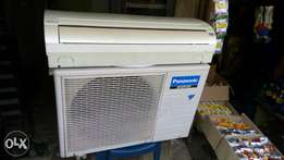 Almost New Panasonic inverter 1.5 HP split A/C use by white man