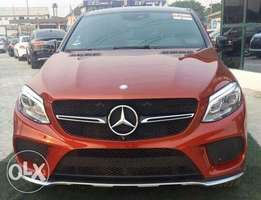 Mercedes Benz GLE 450 Model 2016 in excellent condition