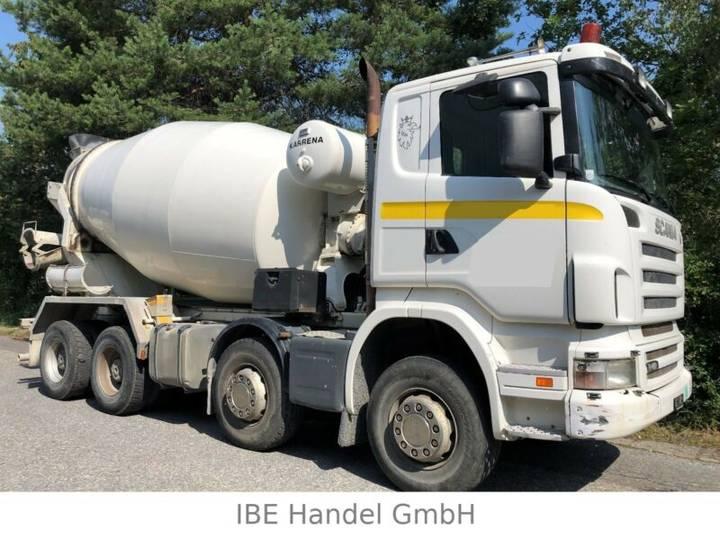 Scania R420 8x4, E4, Retarder, 9m³ - 2007