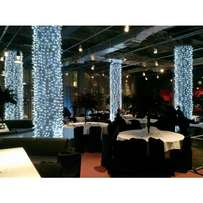 OLED Outdoor Indoor Christmas Party Tree Mesh Curtain Ceiling Light