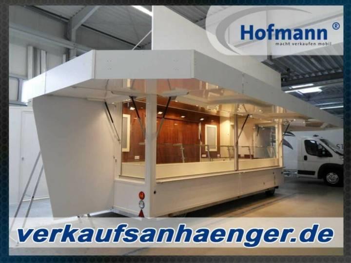 Hofmann verkaufsanhänger 600x242x240cm anhänger