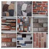 Spanish outside wall tiles