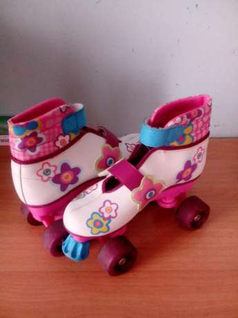 Four wheels barbie roller skate shoes Bombolulu - image 4
