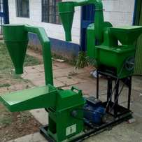 Combined Huller with Mill