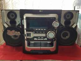 LG Boombox sound system New in great condition for sale