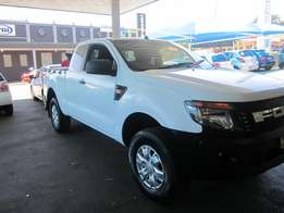 2012 White Ford Ranger 2,2 XLT 6 Speed
