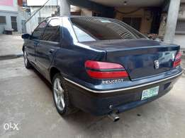 Evergreen Peugeot 406 Prestige (manual gear) for sale. #490k
