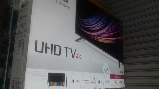 "Lg 49""smart 4k tv Nairobi CBD - image 3"