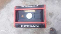 Firman generator 2200 with the receipt and complete accessories