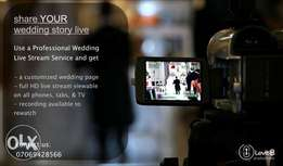 Live Stream And Video Production For Wedding, Birthday, Anniversary