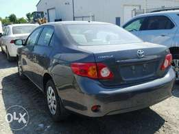 SUPER CLEAN TOKUNBO, 2010 Toyota Corolla Alloy Ream, TinCan Cleared