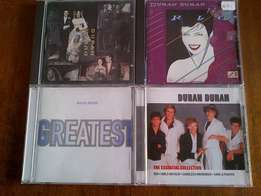 4 Duran Duran cds very good to excellent condition