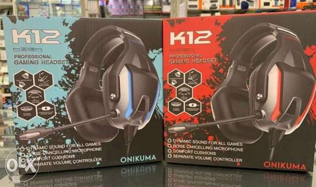 K12 Pro Gaming headset Delevery available