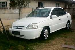 2005 Kia Rio-non runner for sale-R17k- fixer up-valued at R35k