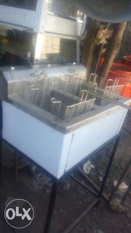 Deep fryer frier double basket Kamukunji - image 3