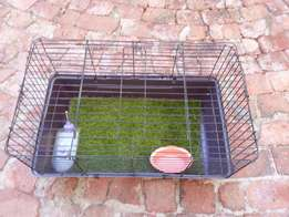 Hamster or rat cage.