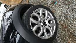 Mini Cooper Rims and Tyres
