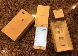 iPhone 8 Plus 64GB gold one week old