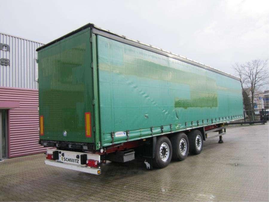 Schmitz Cargobull SO1 Coil Stuuras/Steering/Lenkachse - 2008 - image 3