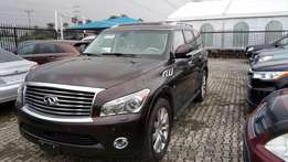 Ultra Luxurious 2014 Infiniti QX 80 With Navigation Rev Camera DVD