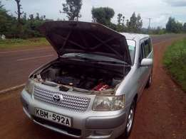 Toyota succeed TX silver full loaded