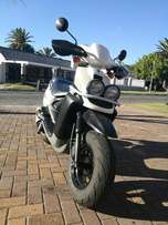 Yamaha BWS 100cc scooter and Spirit helment for sale- R19000