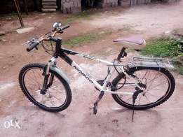 Mountain Bike with 10 gear (3 rear) and 7( back)