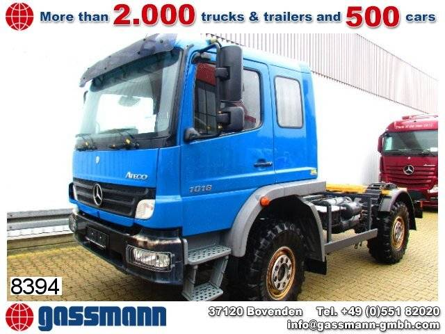 mercedes-benz atego 1018a4x4 chassis - 2007