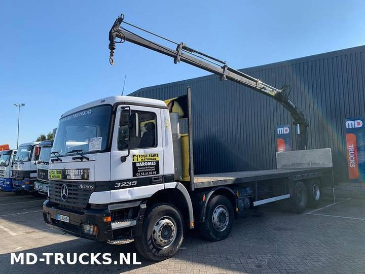Mercedes-Benz Actros 3235 8x4 full steel - 1998