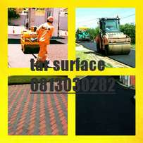 Tar surface & paving quality job