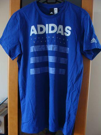 Nowa, oryginalna koszulka T Shirt Adidas, 100% bawełna
