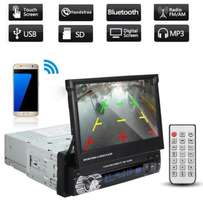 NEW!! 1Din Car Radio Stereo Video Player BT USB Touch Screen MP5 D