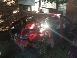 Damaged 2015 Chev cruze striped body with papers