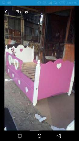 Kids bed colour of your choice Donholm - image 5