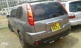 Nissan xtrail kbz 567u, silver in colour and in good condition