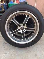"Lorenzo 20"" mags and tyres"