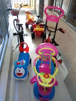 Baby cars ,bike used but in good shape