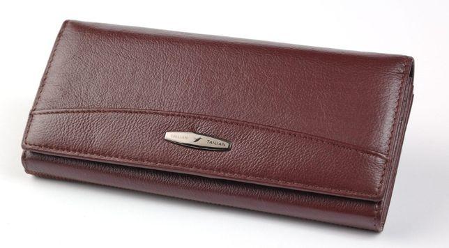 40c26cf8c110 Полностью кожаный женский классический кошелек Tailian ...