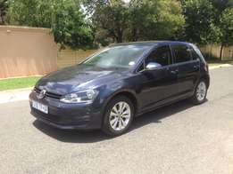 2014 Volkswagen Golf 7 TSI 1.4 Litre Automatic With Sun Roof.