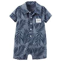 Carter's Palm Leaf Boy's Romper
