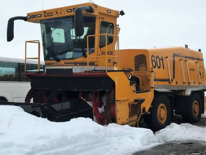 cf10s snowblower for sale by auction - 2007