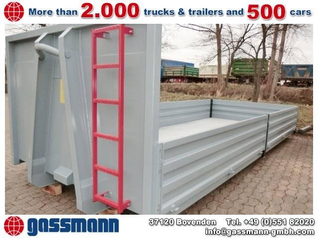 Abrollcontainer mit abklappbaren Bordwänden ca. - 2019