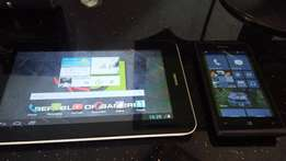 swop/sale tablet and phone