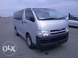 Newly arrived Toyota Hiace Fully fitted